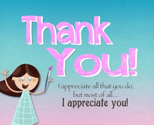 i appreciate you and