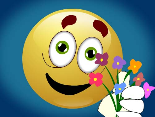 Smiley Thanks Free For Everyone ECards Greeting Cards 123 Greetings