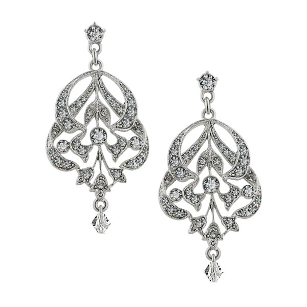 Antiquities Couture Bridal Crystal Fantasy Earrings