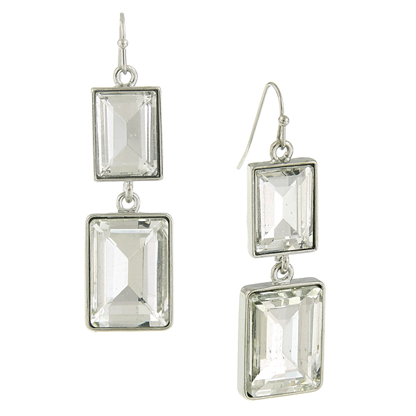 2028 Crystal Mod Drop Earrings