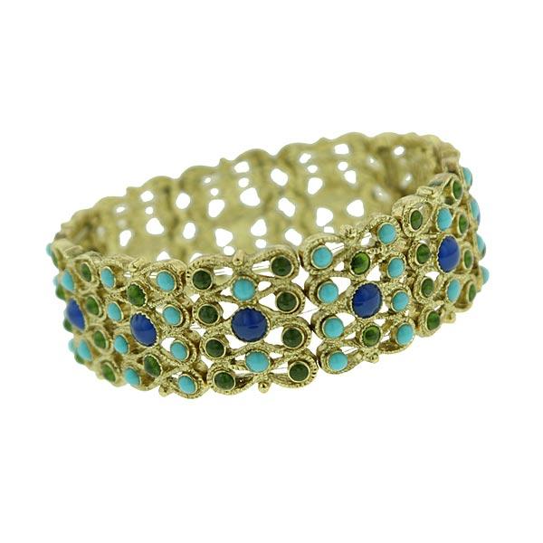Claudia Stretch Cuff Bracelet