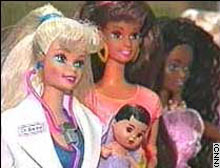 Barbie, left, got more time to treat patients and hang with friends after splitting with long-time beau Ken.