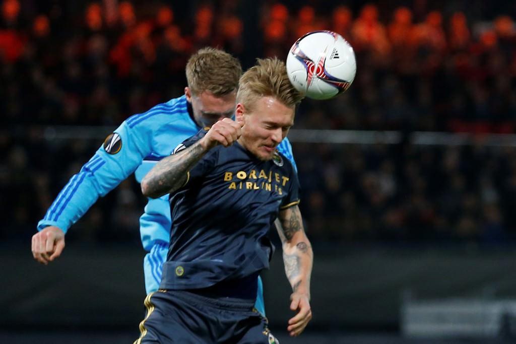 Feyenoord - Fenerbahçe maçından fotoğraflar