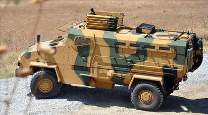 kirpi zırhlı araç