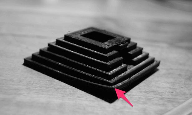 PLA vs ABS'nin görüntüsü: Baskı Yatağı