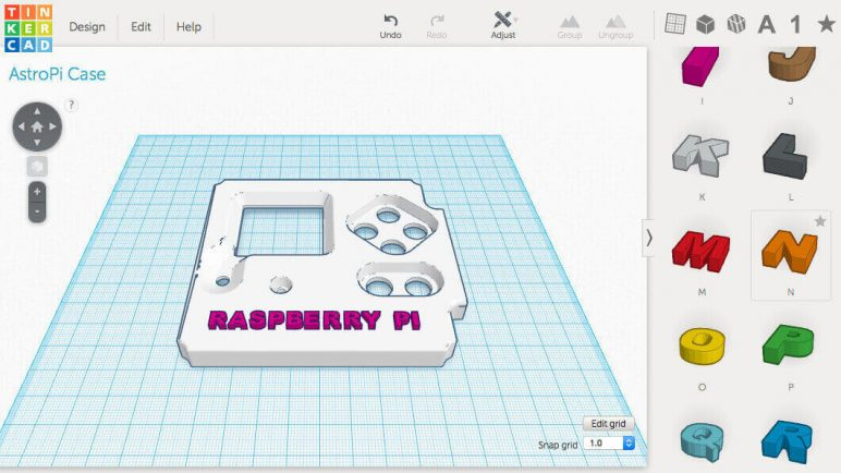 Image of Best 3D Software (3D Modeling Software/3D Design Software): TinkerCAD