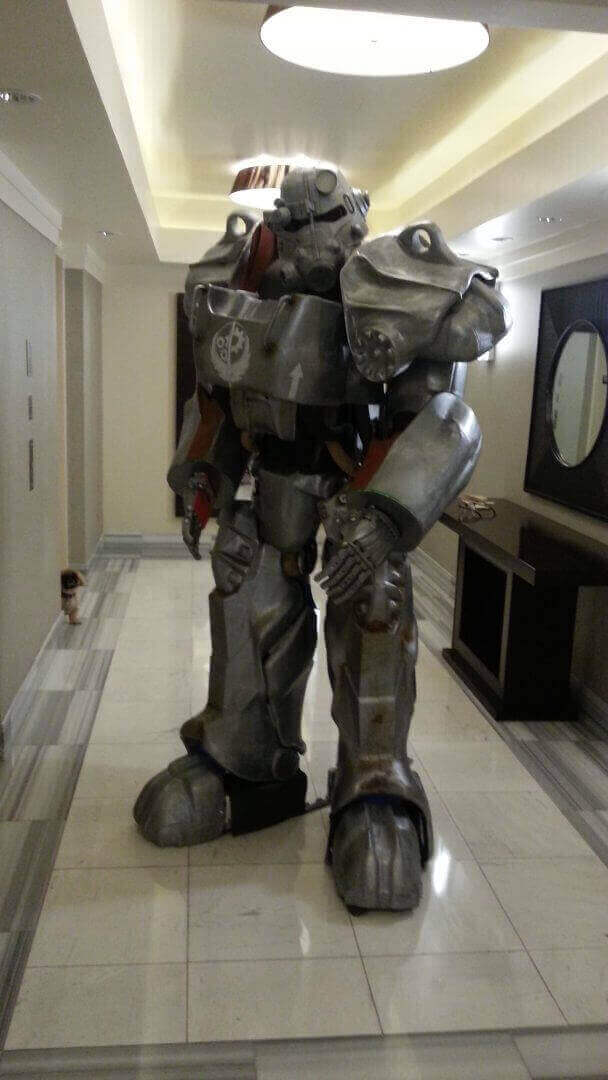 Person Life Size Fallout Power Armor