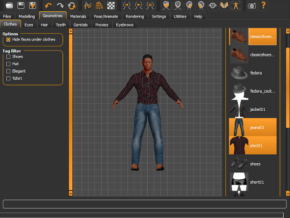 Image of Best 3D Software (3D Modeling Software/3D Design Software): MakeHuman