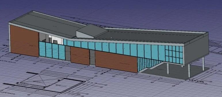 Gambar Perangkat Lunak / Arsitektur Program BIM: Arch FreeCAD