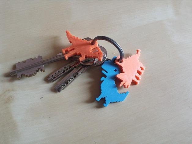 3d printed keychain 10