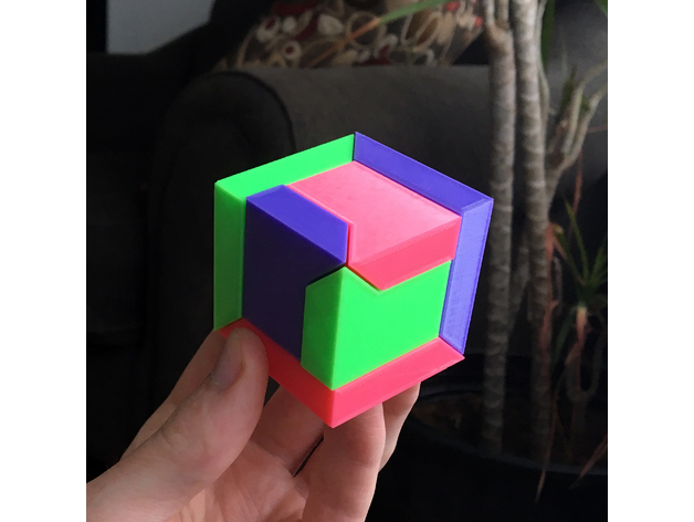 3d printed puzzle 10