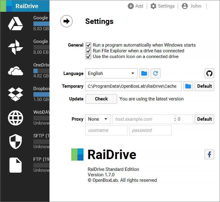 RaiDrive替代品和類似軟件 — Altapps.net
