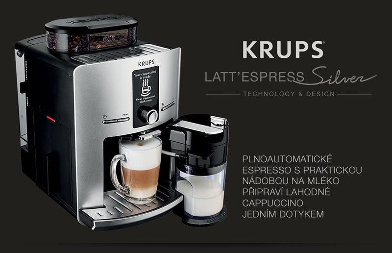 Espresso Krups Latt'espress EA829E