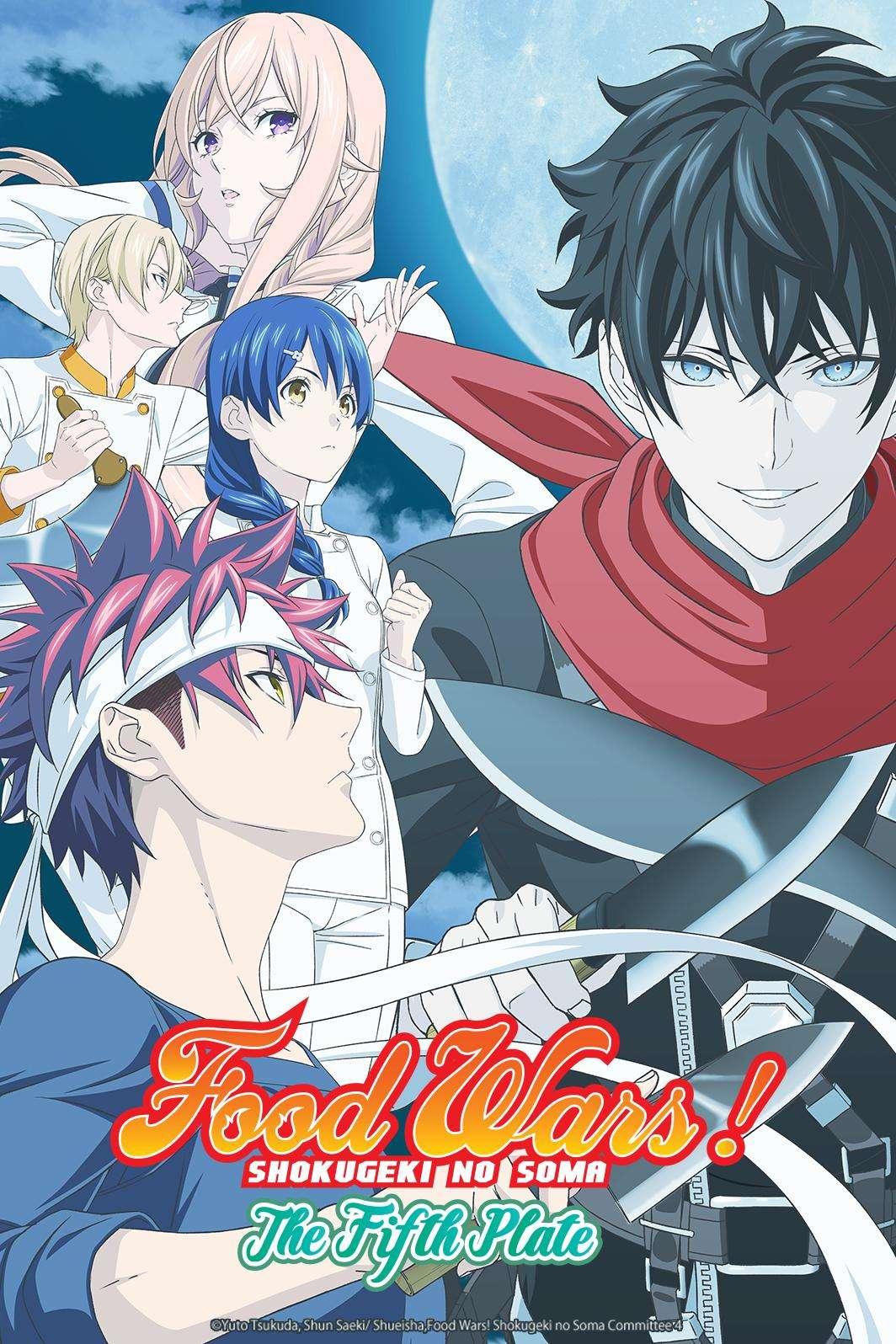 Shokugeki No Soma Season 3 Batch : shokugeki, season, batch, Shokugeki, Souma:, Download, Torrents, Animek