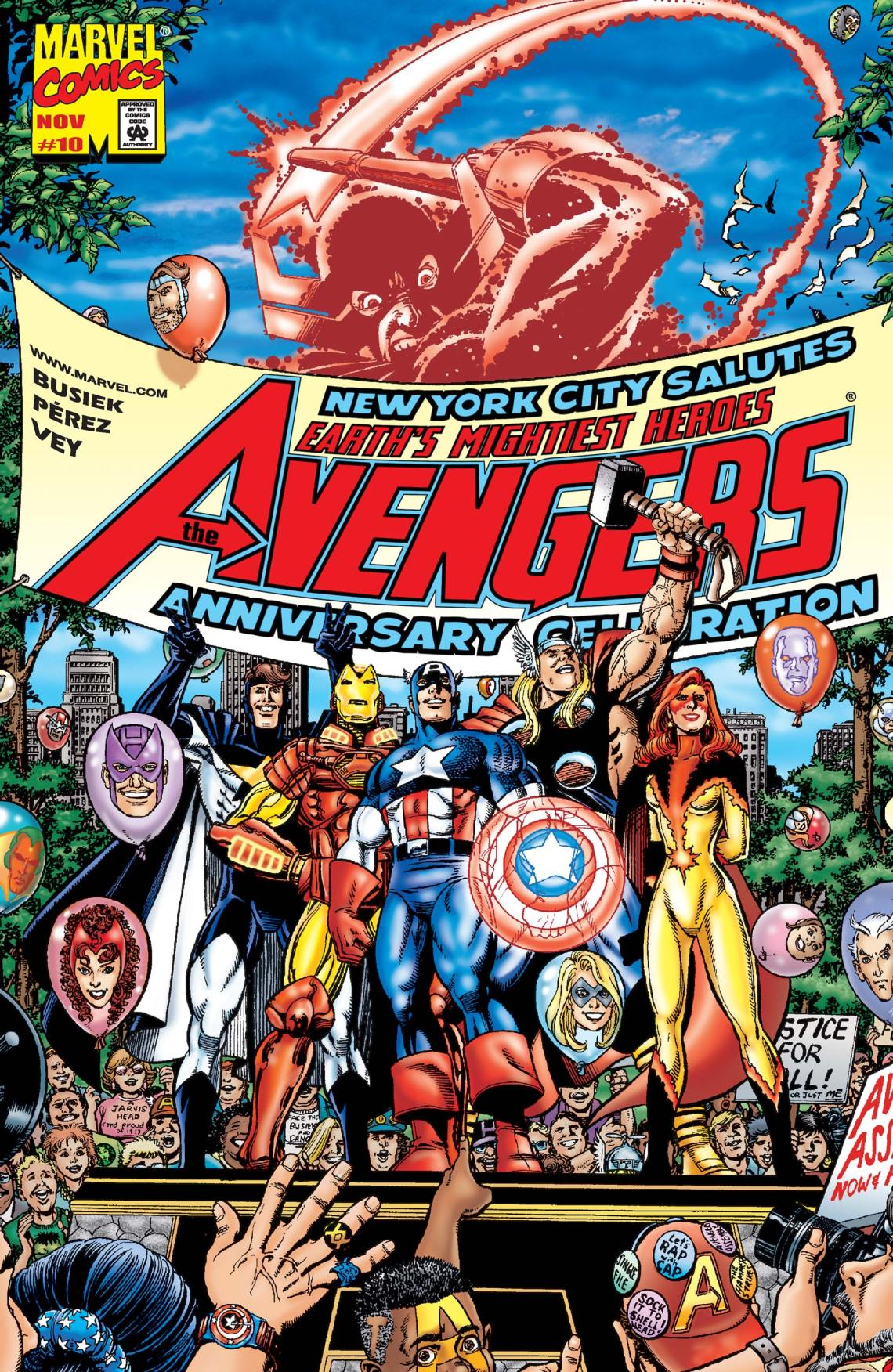 Avengers (1998) #10 | Comic Issues | Marvel