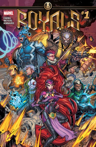 Image result for royal inhumans comic 1