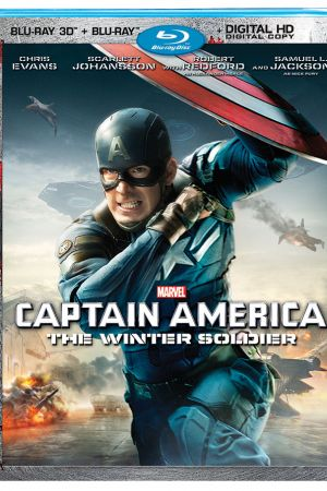 Marvel's Captain America: The Winter Soldier 3D Blu-ray combo pack box art