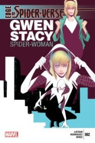 Image result for edge of the spider-verse #2