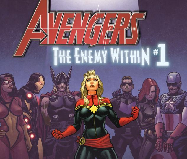 Avengers the Enemy Within #1 cover by Joe Quinones
