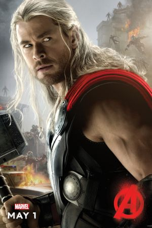 Chris Hemsworth stars as Thor in Marvel's Avengers: Age of Ultron, hitting theaters May 1