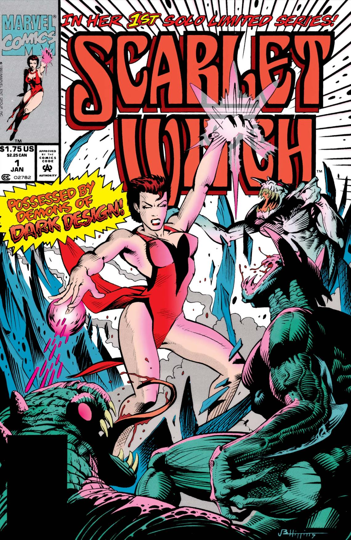 Scarlet Witch (1994) #1 | Comic Issues | Marvel