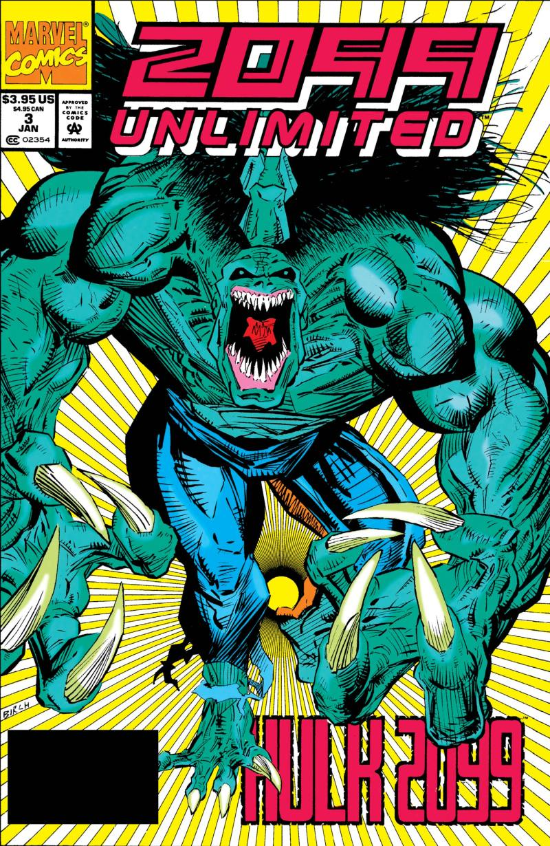 2099 Unlimited (1993) #3 | Comic Issues | Marvel