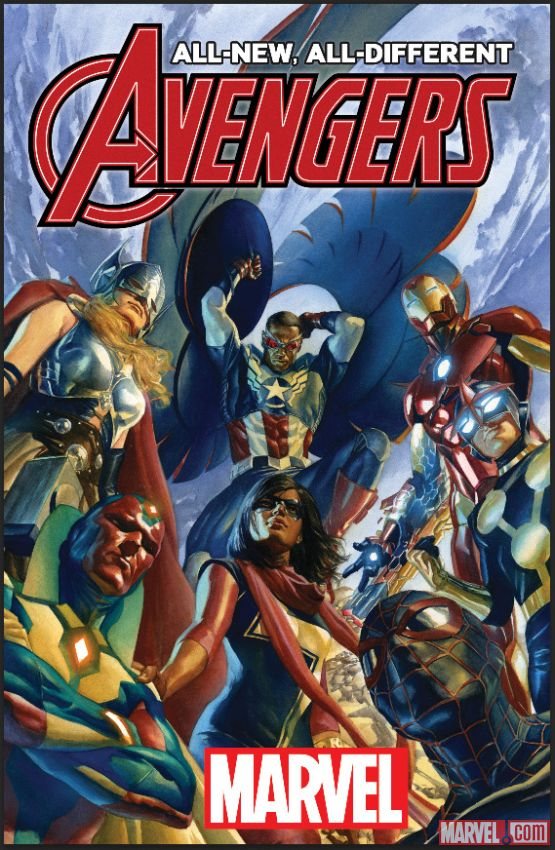 Image result for all new all different avengers roster