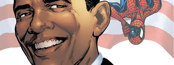 Obama and Spidey
