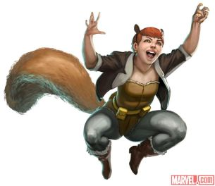 Image result for squirrel girl