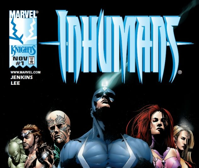 Knights Inhumans Comic Covers