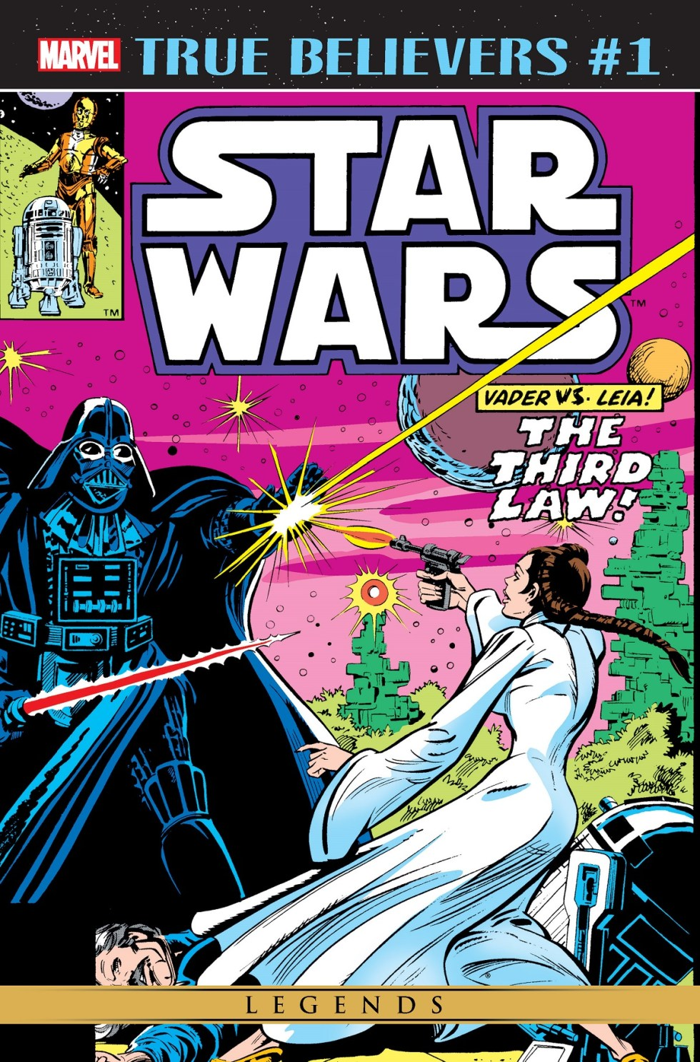 True Believers: Star Wars - Vader vs. Leia (2019) #1