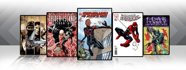 Marvel iPad/iPod App: Latest Titles 9/15/11