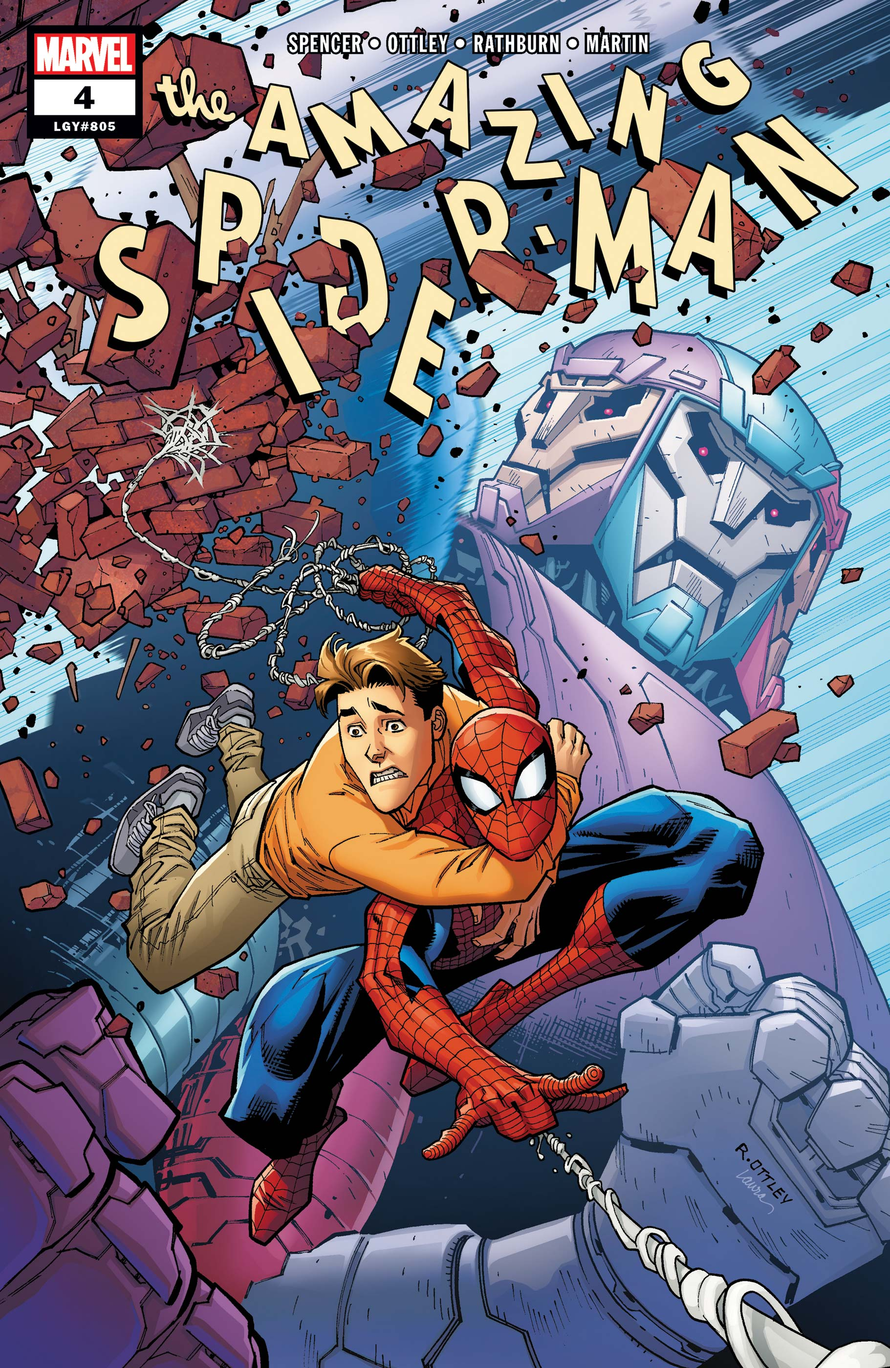 The Amazing Spider Man 4 : amazing, spider, Amazing, Spider-Man, (2018), Comic, Issues, Marvel