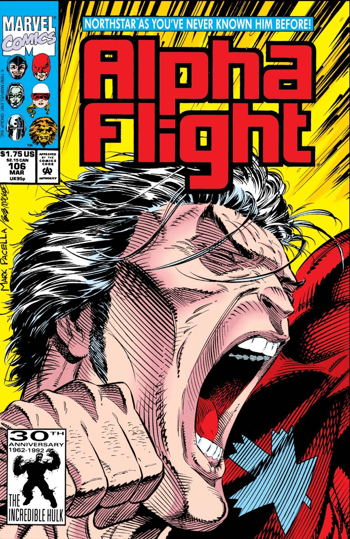 Alpha Flight (1983) # 106    LGBT + characters from comics