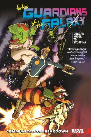 Image of: Comic Book Allnew Guardians Of The Galaxy Vol 1 Communication Breakdown trade Paperback Marvel Gamora Comics Marvelcom