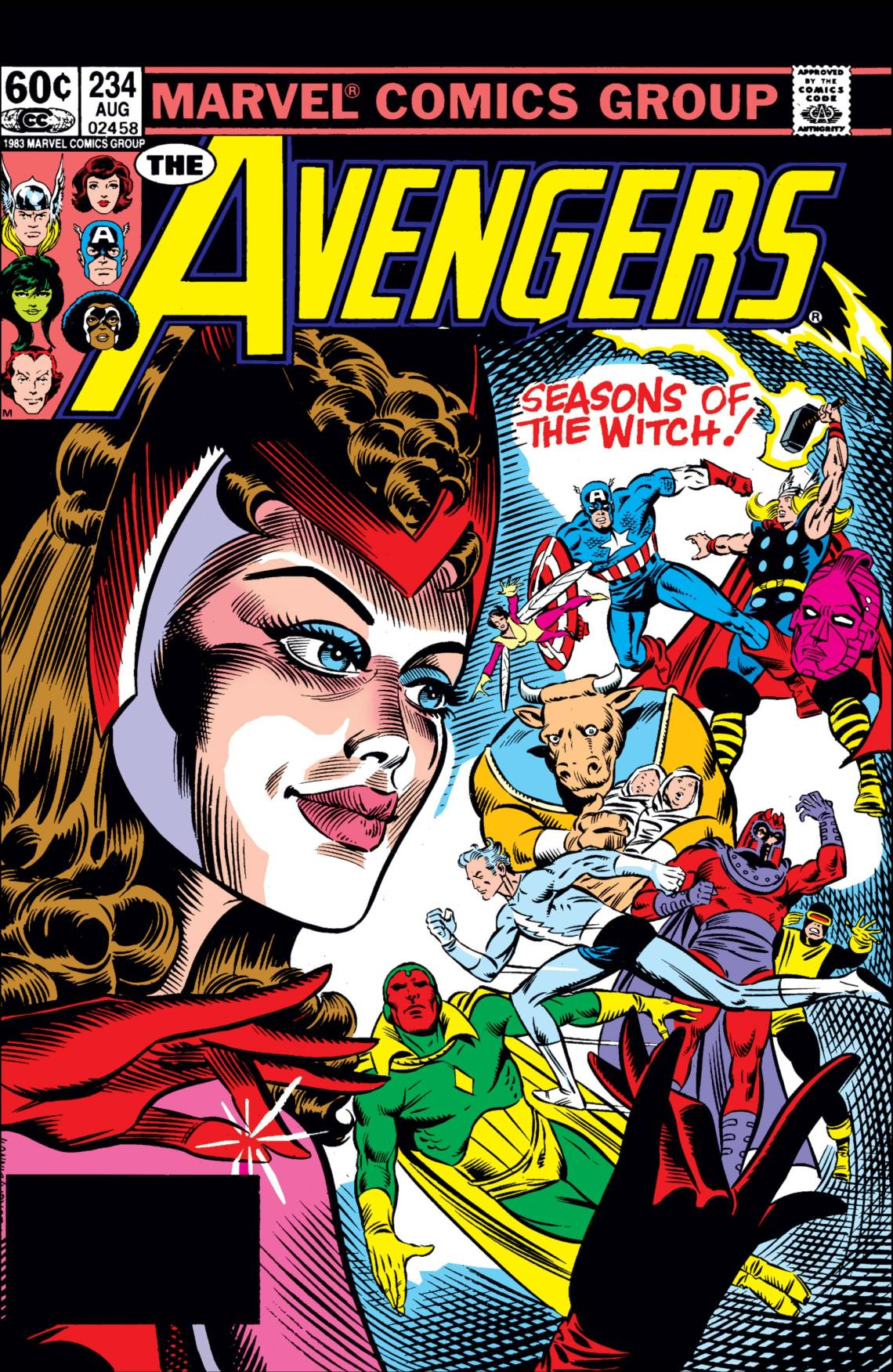 Avengers (1963) #234 | Comic Issues | Marvel