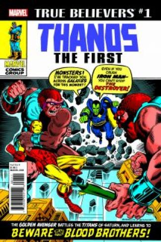 Image result for true believers thanos the first #1