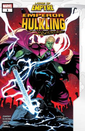 Lords of Empyre: Emperor Hulkling (2020) #1 | Comic Issues | Marvel