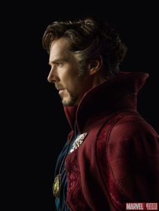Benedict Cumberbatch in costume Photo; marvel.com