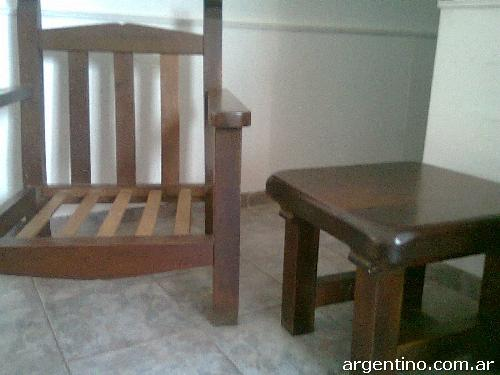 Vendo Juego De Living De Algarrobo en Urca