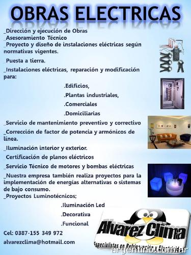 Tcnicos Electricistas Matriculados lvarez Clima en Salta