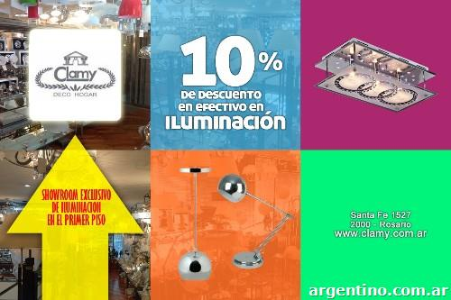 Oferta artculos de iluminacin en Rosario