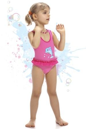 reducere Costum de baie fetite Dolphin, cel mai mic pret