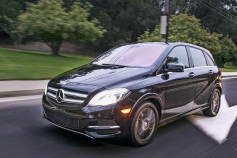 Fahrbericht Mercedes B Klasse Electric Drive Autobildde