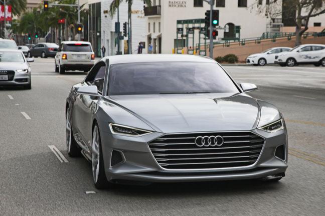 Video Audi A9 Fahrbericht Autobildde