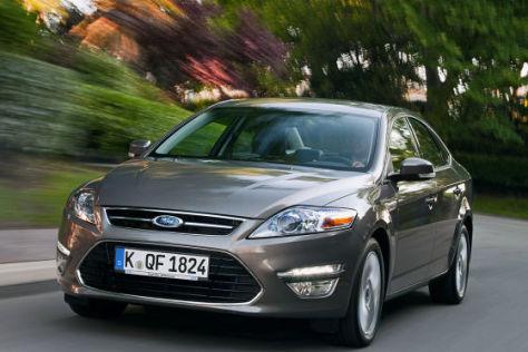 Ford Mondeo Facelift 2011 Erster Fahrbericht  autobildde