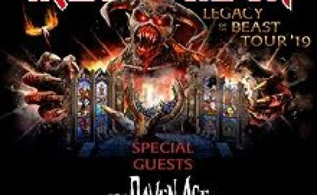 Iron Maiden Tickets In Las Vegas At Mgm Grand Garden Arena