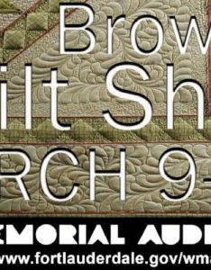 Broward quilt expo tickets at war memorial auditorium fort lauderdale also additional offers rh axs