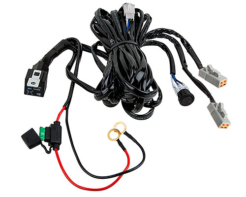 Two Light HD Wire Harness 14 GA Totron 30