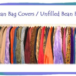 Bean Bag Chair Covers And A Half With Ottoman Sale